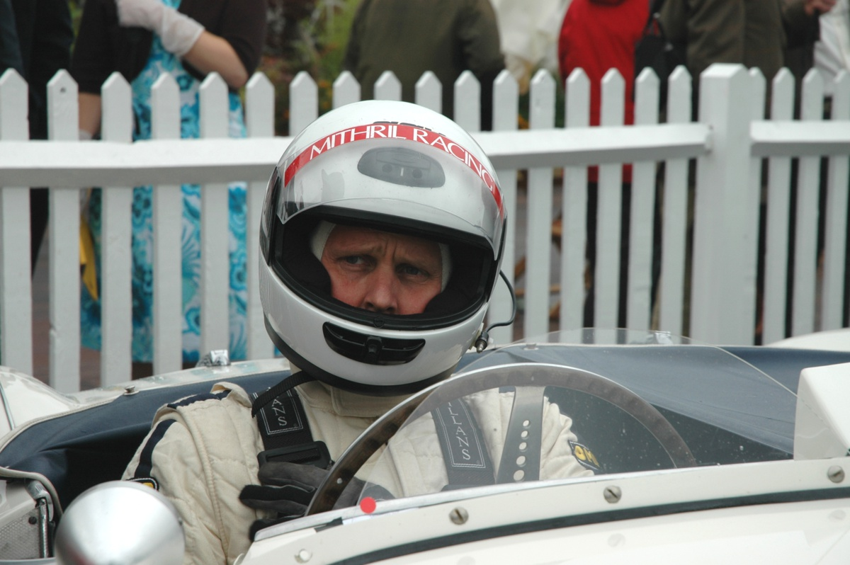 Johnny Herbert Goodwood Revival 2006 100S Freddie March